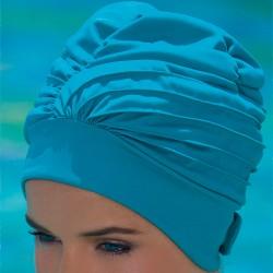 Bonnet de Bain Tissu réglable avec scratch