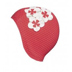 Bonnet de ban gaufré rouge