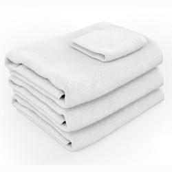 Serviette Coton Blanche