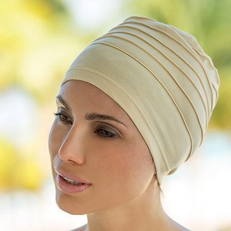 Bonnet Turban avec Surpiqûres