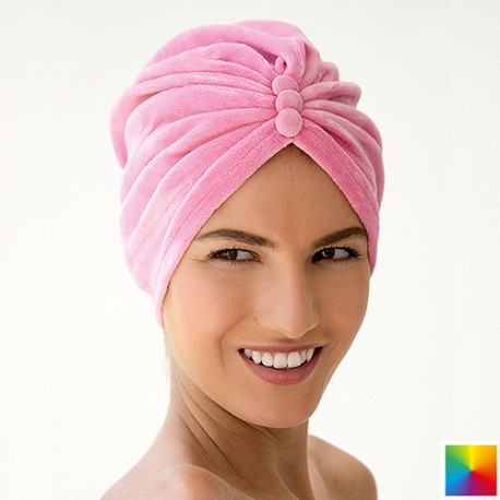 Bonnet Turban Velours Eponge scratch