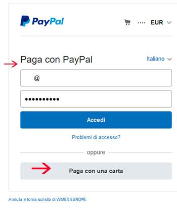 pagamenti protteti